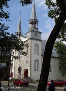 Eglise de Charlesbourg en 1992