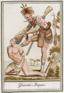 N°5. Iroquois scalpant